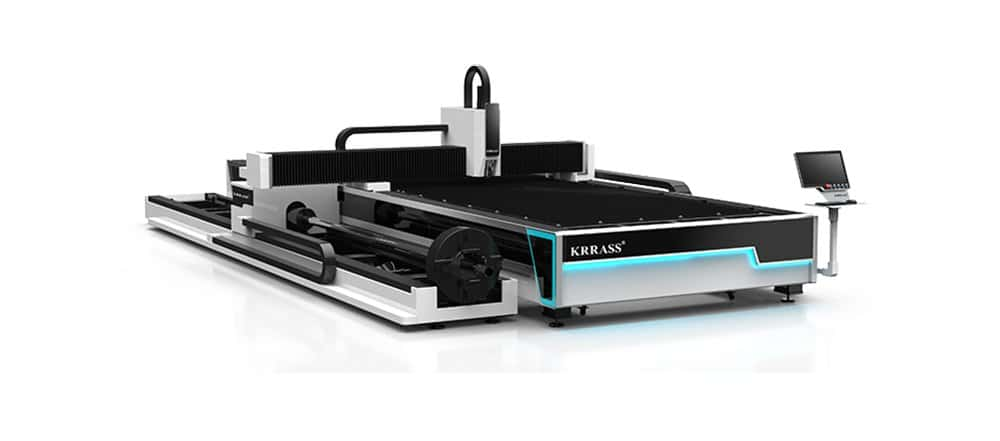 1000W Fiber Laser Cutting Machine from KRRASS,China