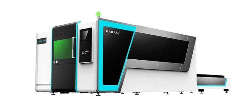 High-power fiber laser cutting machine for power