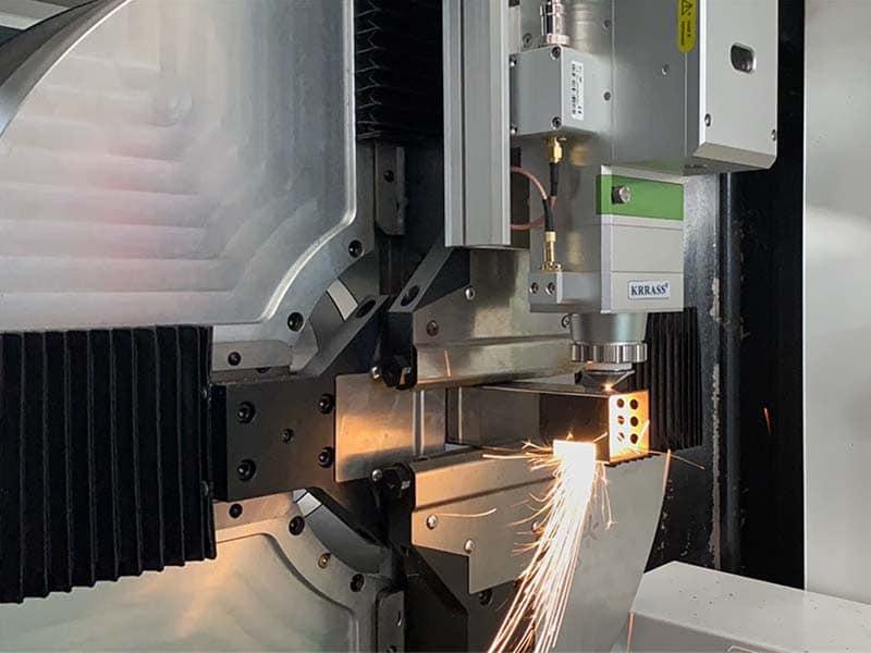 aser metal cutting machine