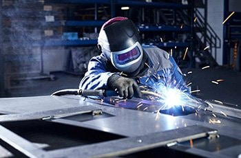 welding of main body
